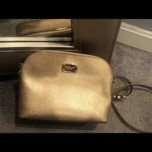 Michael Kors crossbody gold purse